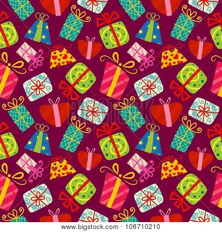 Christmas Seamless Vector Pattern 2