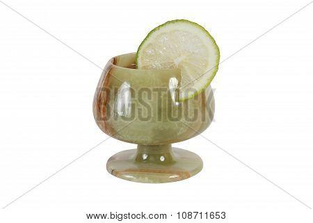 Stone Wineglass