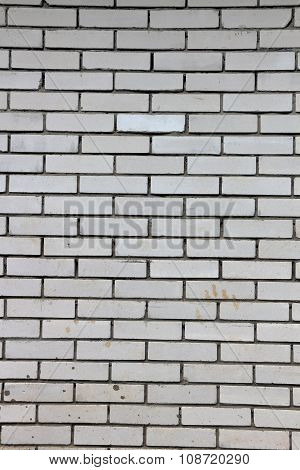 Wall Of Simlpe Grey Bricks As Background Or Texture