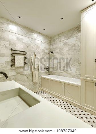 Bathroom Avant-garde Style