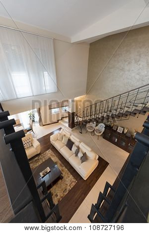 Modern Multilevel Apartment Interior