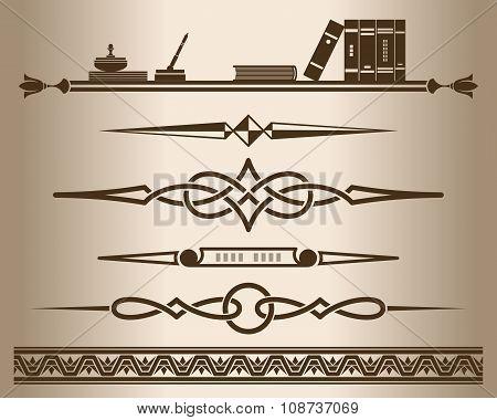 Design elements. Vector illustration.