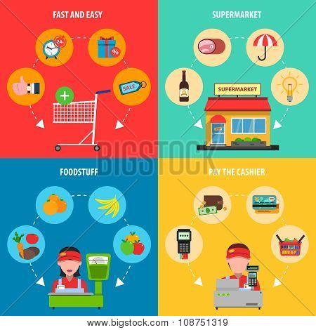 Supermarket Concept Set