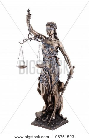 Statue Of Justice, Themis Mythological Greek Goddess