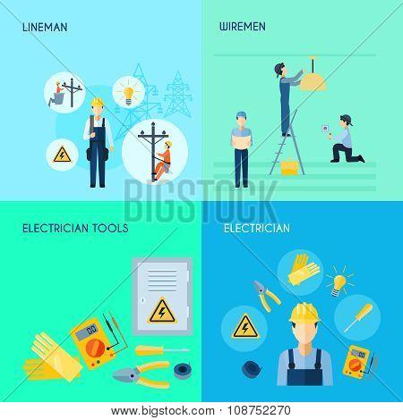 Electricity Set 2x2 Design