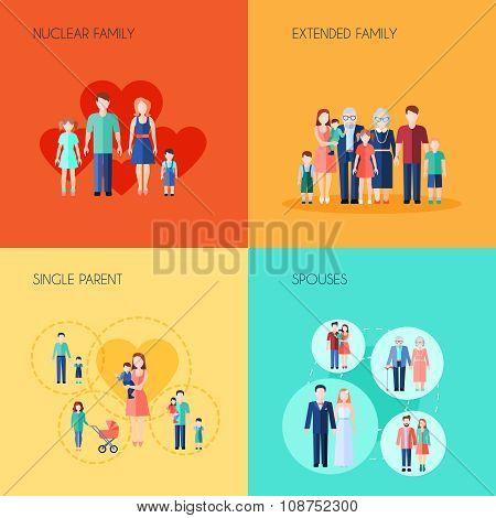 Set Of 2x2 Design Family