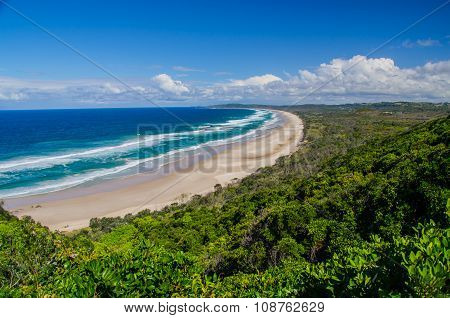 Beach at Byron Bay, Australia