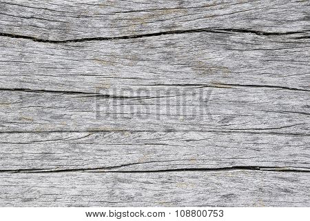 old and crack wooden