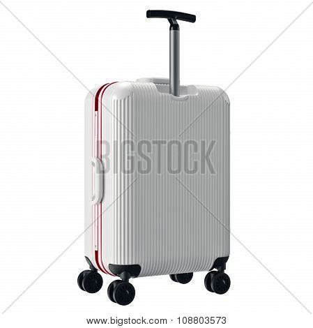 Luggage travel white