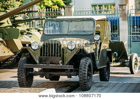 The Willys MB - Jeep,  U.S. Army Truck, 4x4 was a four-wheel drive utility vehicle.