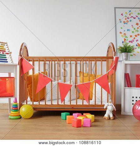 Beautiful Room For Newborn Child