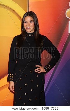 LOS ANGELES - NOV 17:  America Ferrera at the Press Junket For NBC's