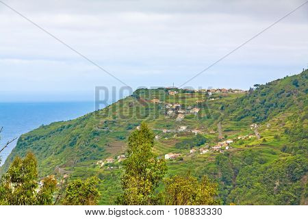 View Over Ribeira Da Janela To The Atlantic Ocean