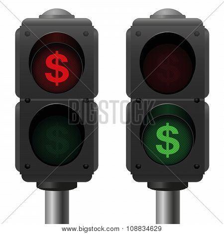 Dollar Traffic Lights Business
