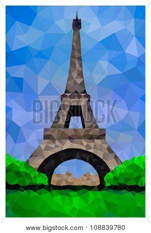 Polygonal Eiffel Tower