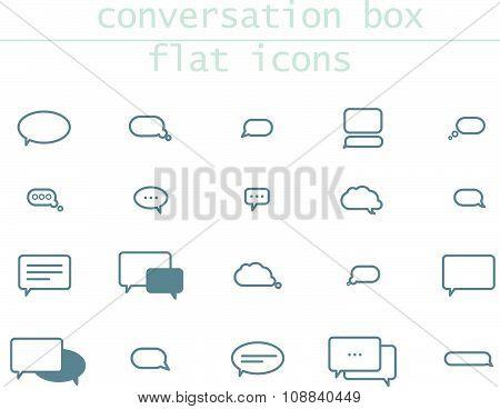 Interface design elements.