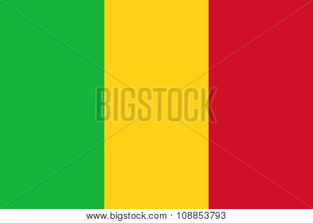 Mali national flag, Authentic version