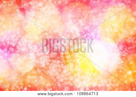 Blue abstract light bokeh background background for christmas card