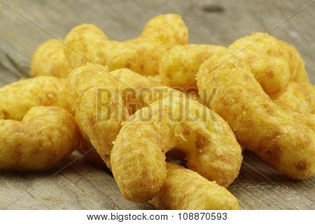 Tasty nibbles peanut puffs