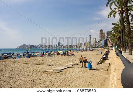 Beach Of Benidorm