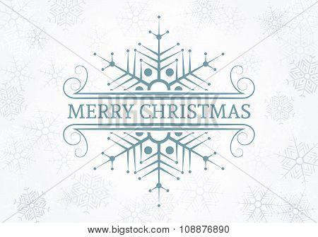 Decorative Christmas Design Element.