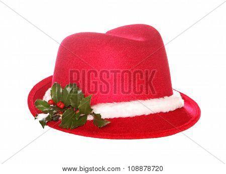 Christmas Fedora Hat