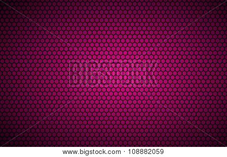 Geometric polygons background abstract pink metallic wallpaper