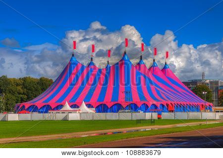 Big Top Circus Tent In Hdr