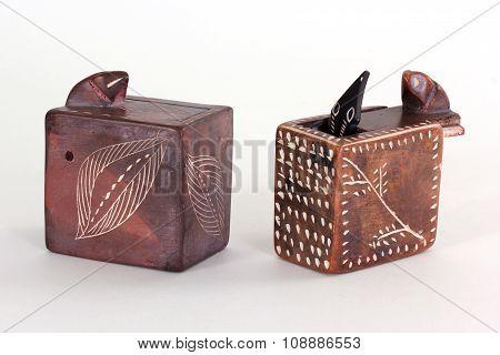 Soapstone Snake Boxes