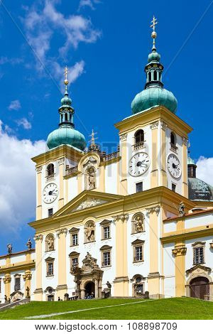 Svaty kopecek, Olomouc (UNESCO), Czech republic