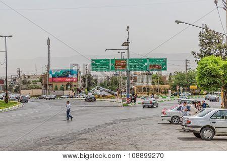 Shiraz north intersection