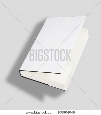 Blank Book Cover W Clipping Path