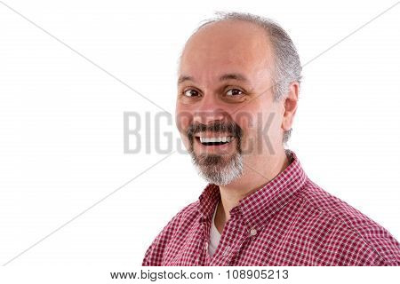 Attractive Middle-aged Man With A Goatee