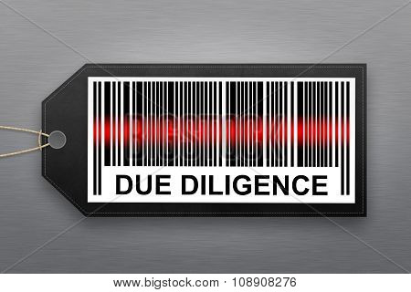 Due Diligence Barcode