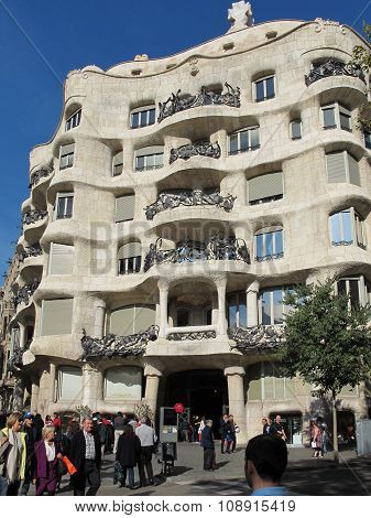 Casa Mila, La Pedrera Barcelona