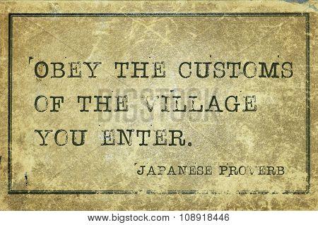 Obey Customs Jp