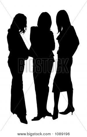 Three Silhouettes