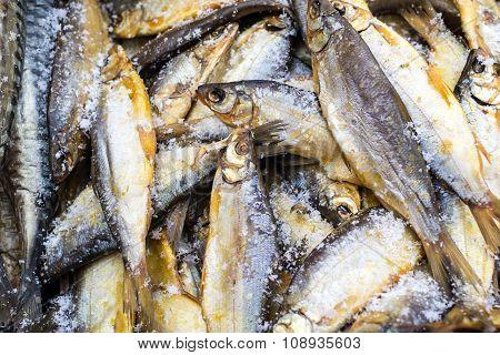 Smoked Whole Herring Fish