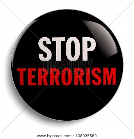 Stop Terrorism Badge