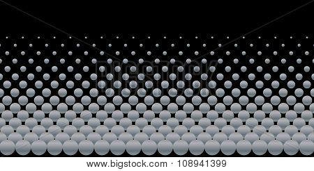 Grey Ball Background