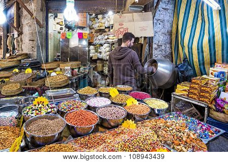 Souq Market In Amman Downtown, Jordan
