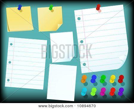 Set of Paper - vector illustration