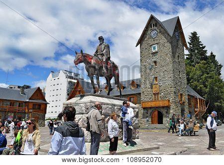 Main Square In San Carlos De Bariloche
