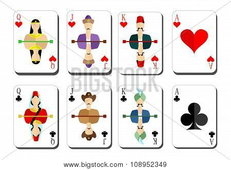 Playing Cards Chirwa Clubs