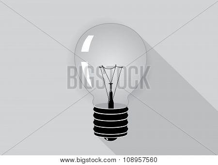 Energy Icon Light Bulb