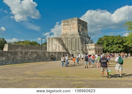 The Maya Archaeological Site Of Chichen Itza, Yucatan, Mexico