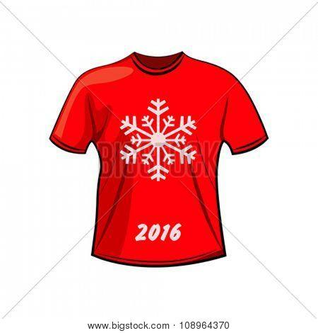 T-shirt design for winter