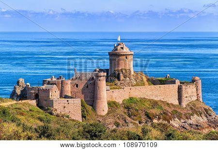 Fort La Latte, Atlantic Coast Of Brittany, France