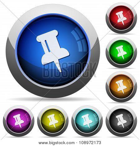 Pin Button Set