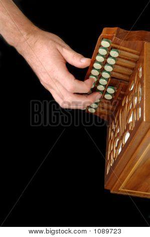 Playing Accordion